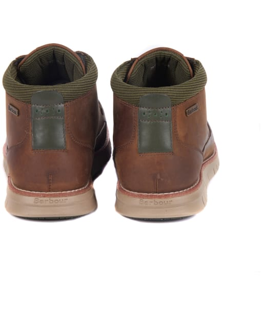 Men's Barbour Nelson Chukka Boots - Chocolate