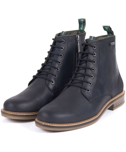 Men's Barbour Seaham Derby Boots - Black