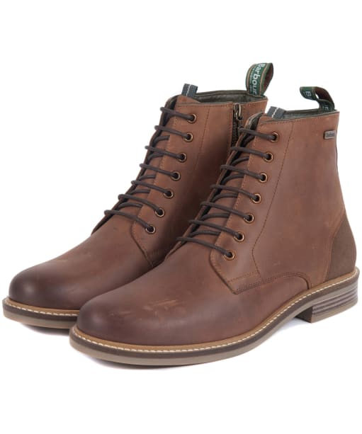 Men's Barbour Seaham Derby Boots - Timber Tan