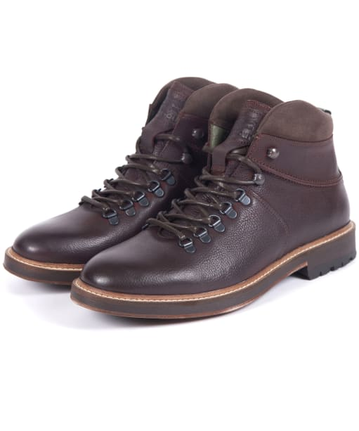 Men's Barbour Affric Hiking Boots - Dark Brown