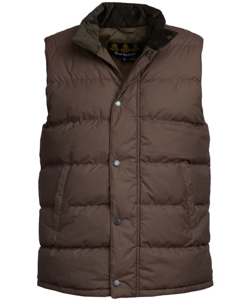 Men's Barbour Mellor Gilet - Dark Olive