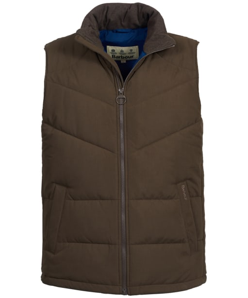 Men's Barbour Ruck Gilet - Dark Olive