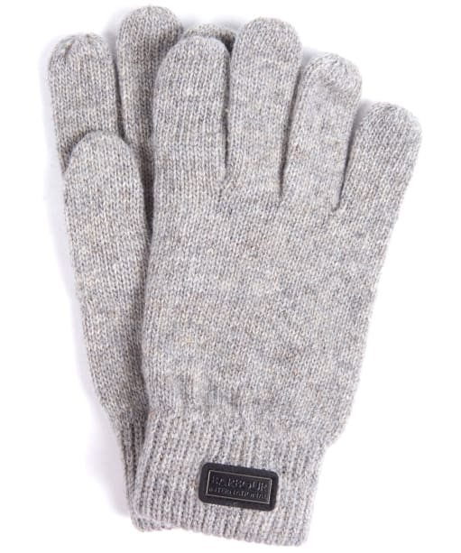 Men's Barbour International Sensor Knitted Gloves - Winter Grey