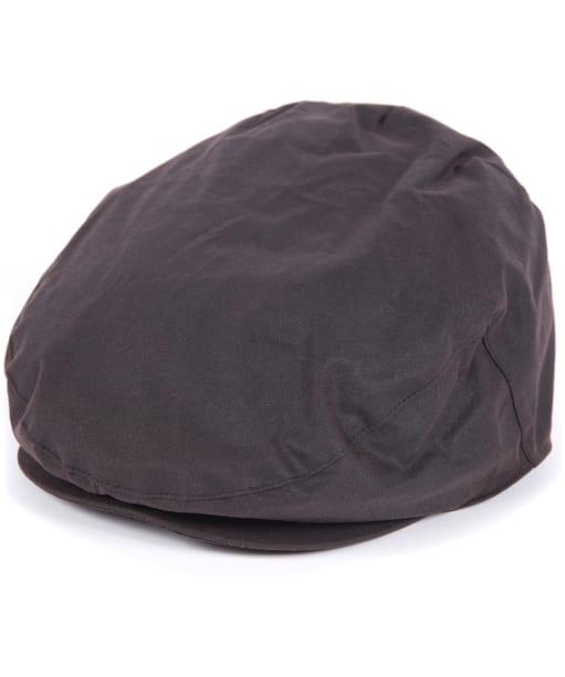Men's Barbour Waxed Flat Cap - Sylkoil - Rustic