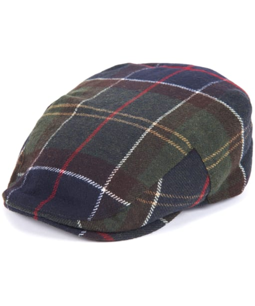 Men's Barbour Gallingale Tartan Flat Cap - Barbour Classic