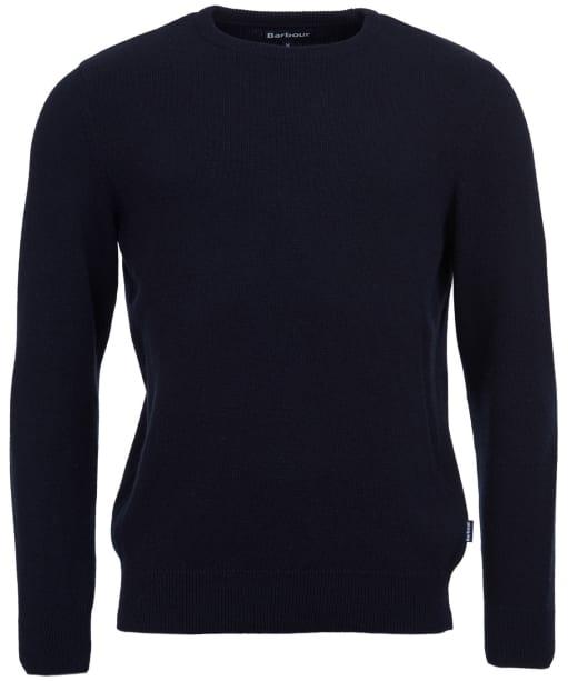 Men's Barbour Harold Crew Neck Sweater - New Navy