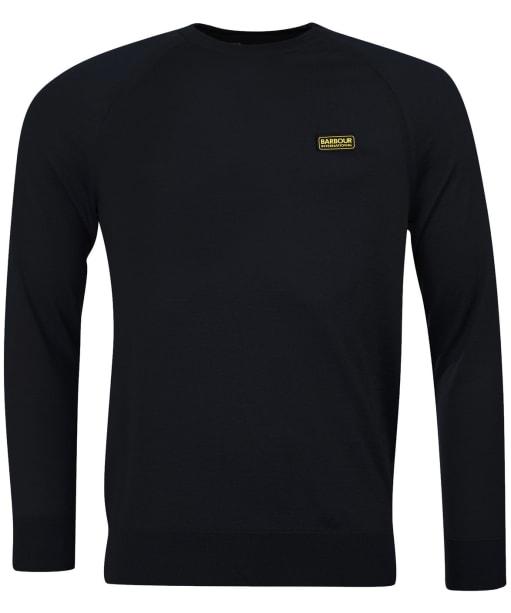 Men's Barbour International Absorb Merino Crew Sweater - Black