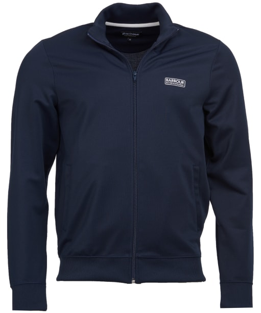 Men's Barbour International Essential Track Top - INTERNATIO NAVY