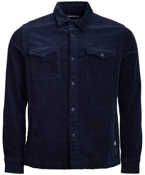 Men's Barbour Cord Overshirt - Navy