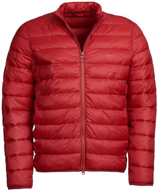 Men's Barbour Penton Quilted Jacket - Crimson