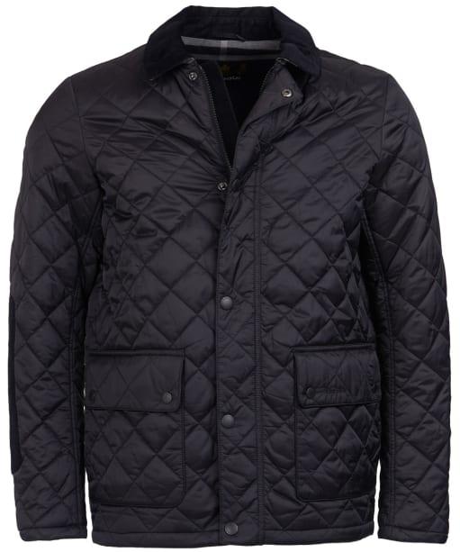 Men's Barbour Diggle Quilted Jacket - Black