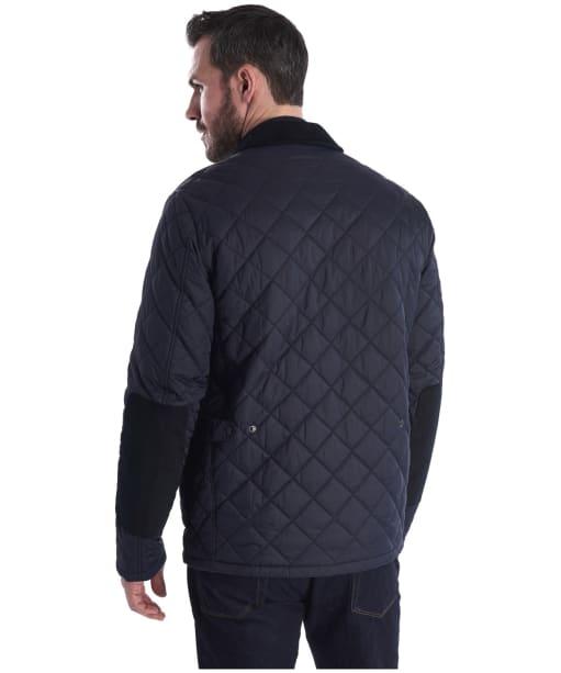 Men's Barbour Diggle Quilted Jacket - Navy