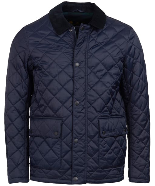 Men's Barbour Diggle Quilted Jacket - Navy