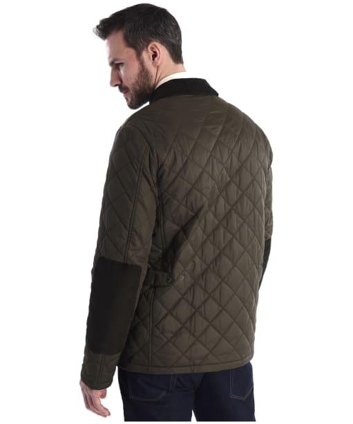 Men's Barbour Diggle Quilted Jacket - Olive