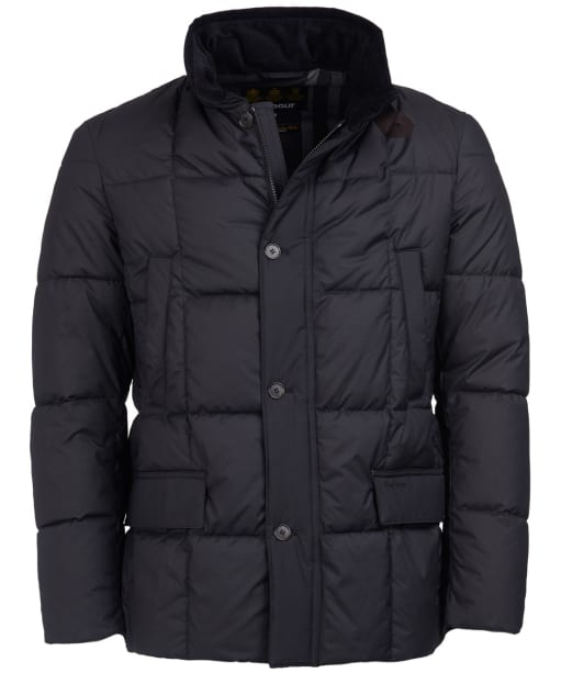 Men's Barbour Yaxley Quilted Jacket - Black