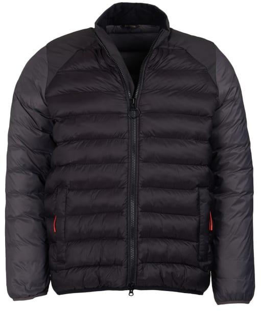Men's Barbour Brocken Quilted Jacket - Black
