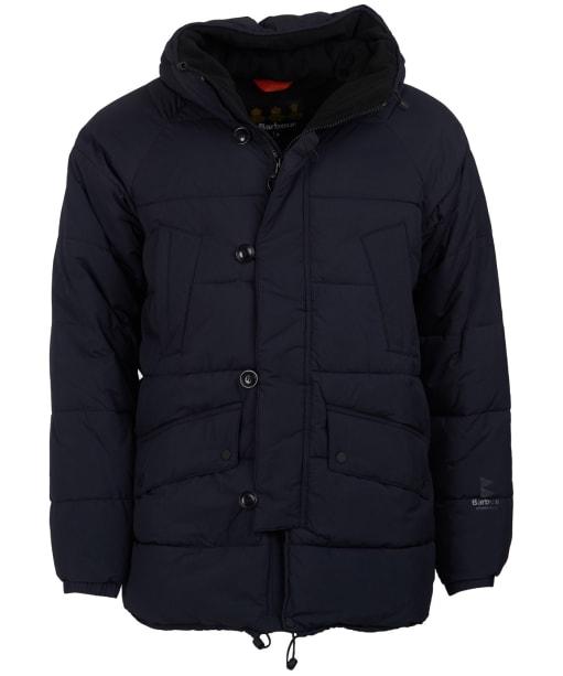 Men's Barbour Alpine Quilted Jacket - Black