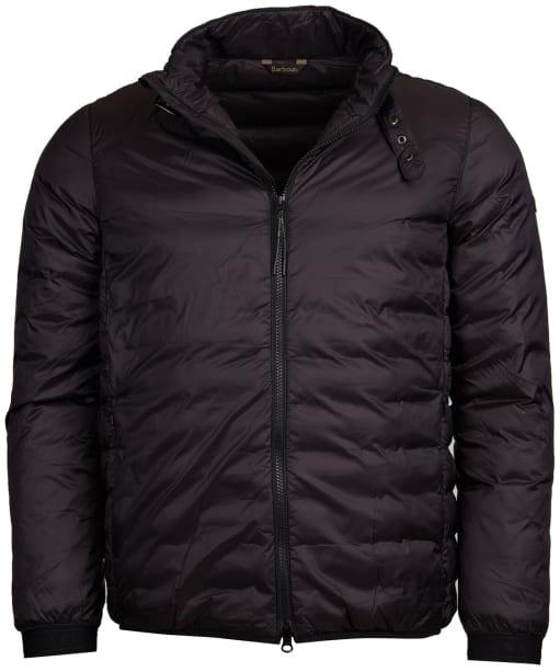 Men's Barbour International Dock Quilted Jacket - Black