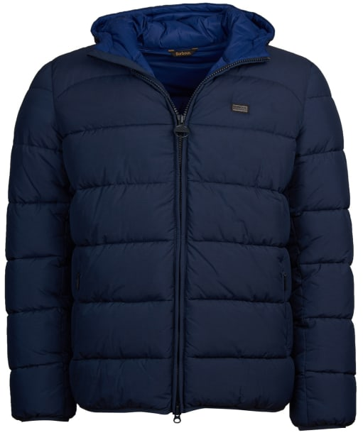 Men's Barbour International Court Quilted Jacket - Navy