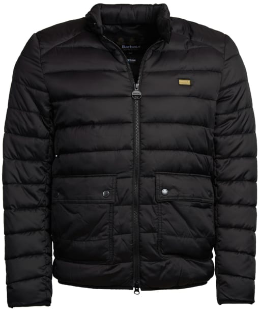 Men's Barbour International Ludgate Quilted Jacket - Black