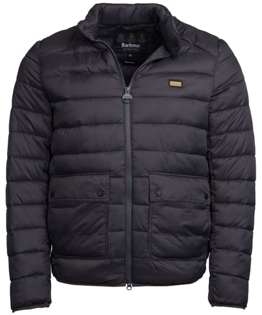Men's Barbour International Ludgate Quilted Jacket - Charcoal