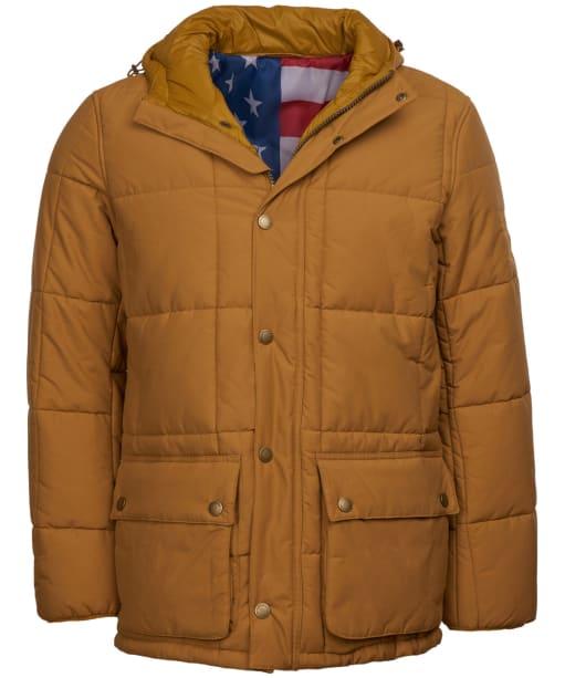 Men's Barbour Steve McQueen Goshen Quilted Jacket - Yellow