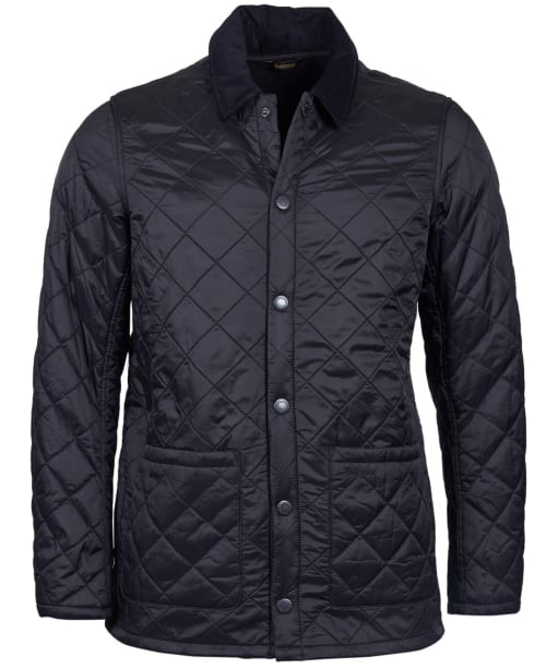Men's Barbour Blinter Polarquilt Jacket - Black
