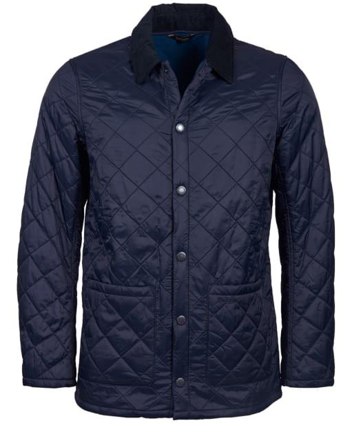 Men's Barbour Blinter Polarquilt Jacket - Navy