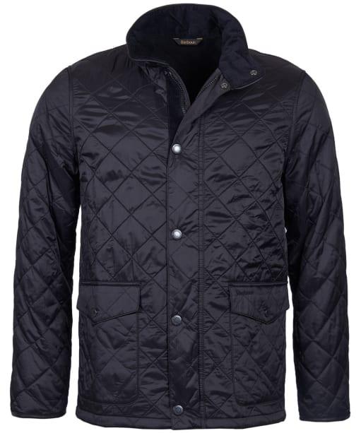 Men's Barbour Blunk Polarquilt Jacket - Black