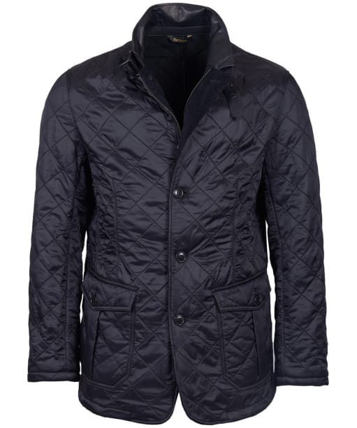 Men's Barbour Doister Polarquilt Jacket - Black