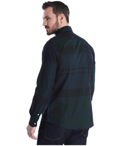Men's Barbour Dunoon Shirt - Black Watch Tartan