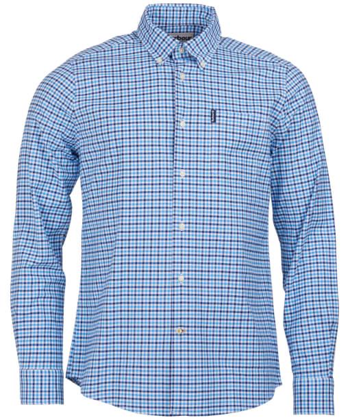 Men's Barbour Gingham 11 Tailored Shirt - Blue