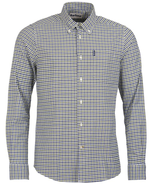 Men's Barbour Gingham 11 Tailored Shirt - Forest