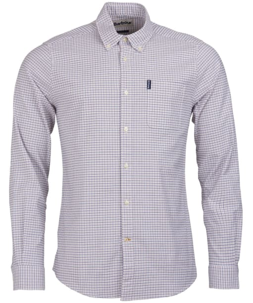 Men's Barbour Tattersall 10 Tailored Shirt - Ginger