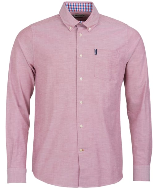 Men's Barbour Oxford 7 Tailored Shirt - Merlot