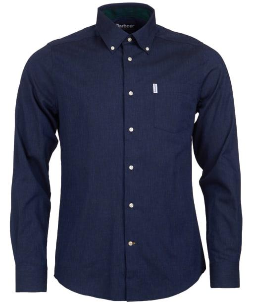 Men's Barbour Lambton Shirt - Navy
