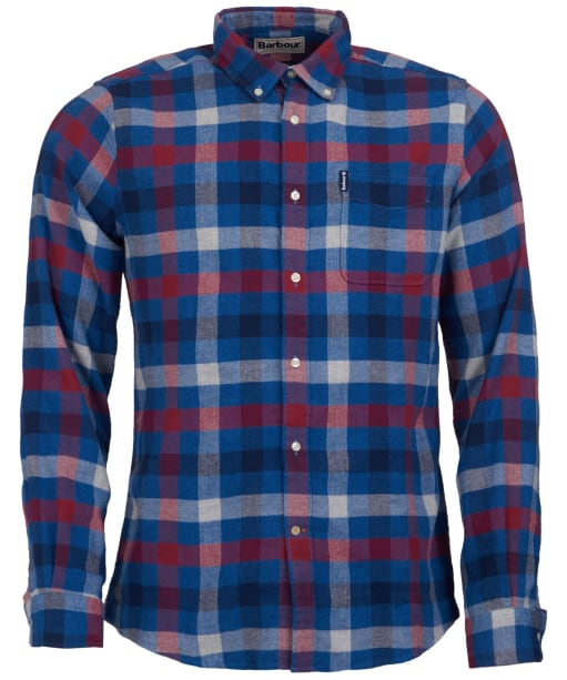 Men's Barbour Country Check 5 Tailored Shirt - Red Check