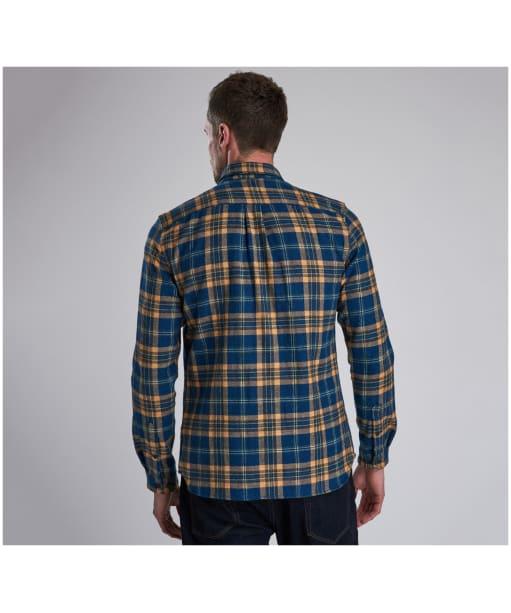 Men's Barbour Steve McQueen Chuck Shirt - Blue Check