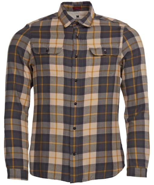 Men's Barbour Steve McQueen Bill Shirt - Ecru Check
