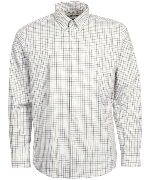 Men's Barbour Tattersall 9 Regular Shirt - Ginger Check