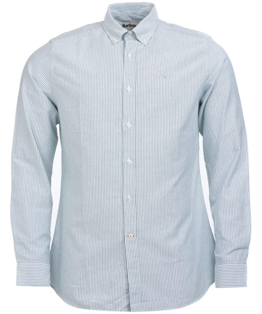Men's Barbour Stripe 9 Tailored Shirt - Green