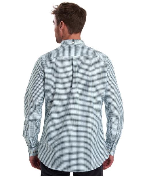 Men's Barbour Tattersall 12 Tailored Shirt - Green