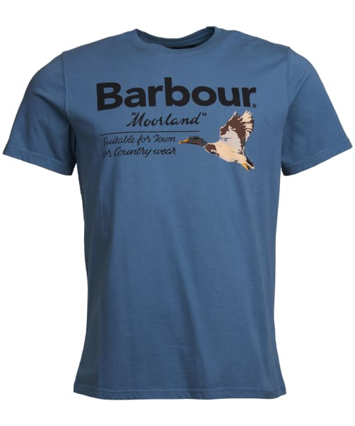 Men's Barbour Country Tee - Dark Chambray
