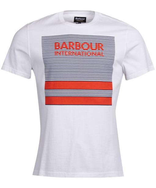 Men's Barbour International Sportster Tee - White