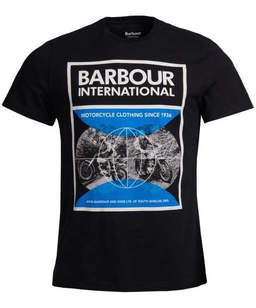 Men's Barbour International Archive Comp Tee - Black