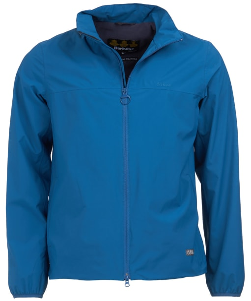 Men's Barbour Billy Waterproof Jacket - Peacock Blue
