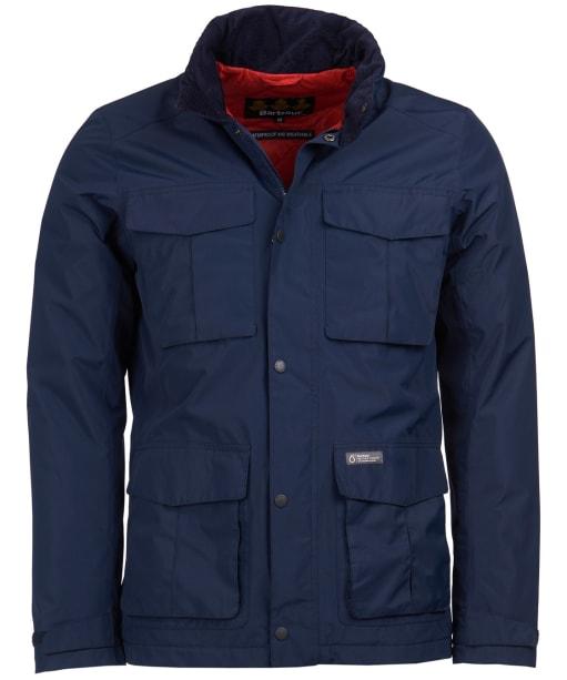 Men's Barbour Hexham Waterproof Jacket - Navy