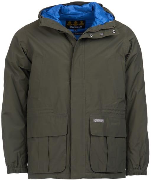 Men's Barbour Ashton Waterproof Jacket - Sage
