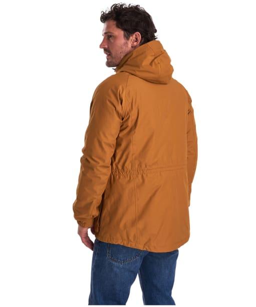Men's Barbour Ashton Waterproof Jacket - Tumeric