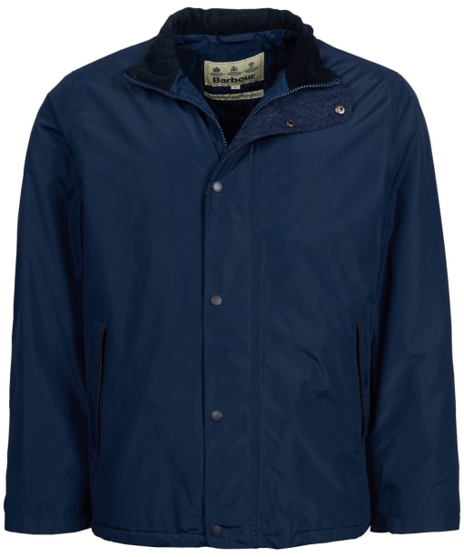 Men's Barbour Borrowdale Waterproof Jacket - Navy